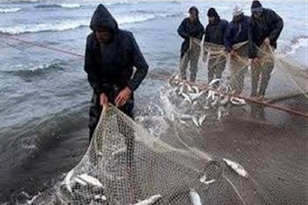 آغاز فصل صید ماهی در دریاچه شهید کاظمی بوکان