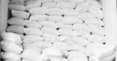 ۱۵ تن آرد خارج از شبکه در مهاباد کشف و ضبط شد