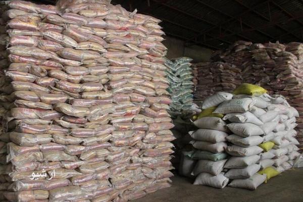 ۱۱ تن برنج قاچاق در شاهیندژ کشف شد