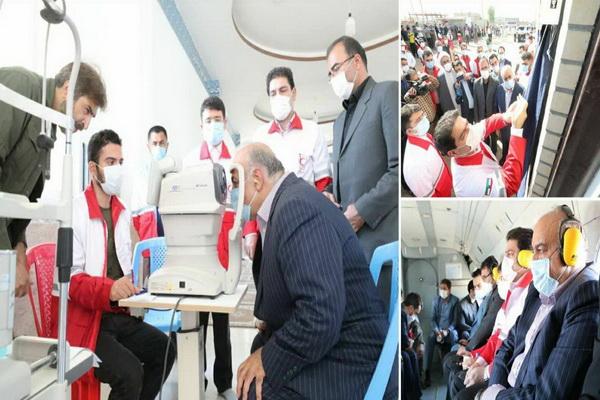 ۶۸ خانه هلال احمر روستایی در استان کرمانشاه افتتاح شد