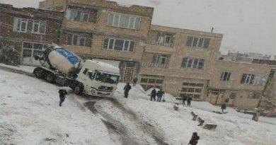 بارش برف تلنگری بر مدیریت بحران مهاباد
