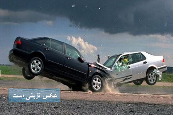 تصادف سه خودرو در تکاب موجب مرگ پنج نفر شد