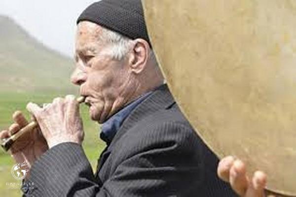 استاد امان الله طاهری «آمان دای» هنرمند پیشکسوت سنقری به دیار باقی شتافت