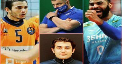 اولین مربی تاریخ والیبال ایران در بالاترین سطح والیبال دنیا