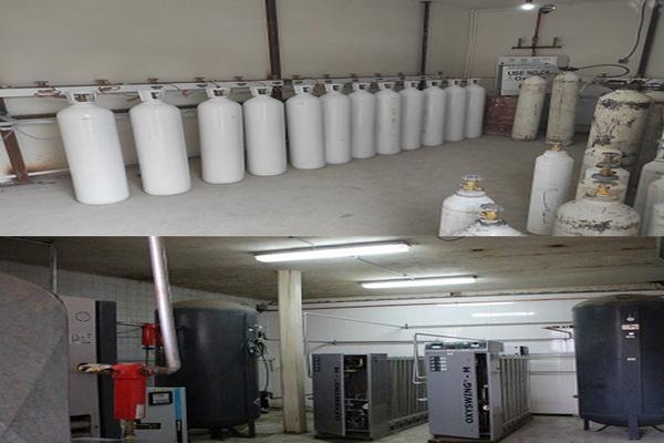 افزایش 2 برابری ظرفیت اکسیژن بیمارستان امام خمینی (ره) شهرستان مهاباد