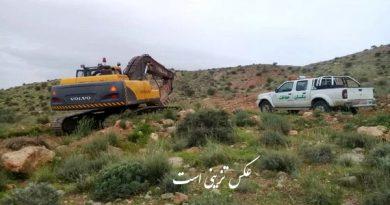 5 هزار متر از اراضی ملی در شهرستان مرزی سردشت رفع تصرف شد