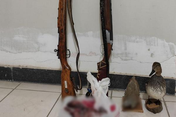 شکارچیان حرفه ای و سابقه دار در شهرستان پیرانشهر دستگیر شدند