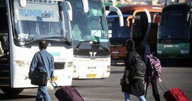 ممنوعیت فروش بلیط به افراد مشکوک به کرونا در پایانههای مسافربری آذربایجان غربی