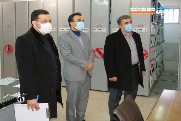 بازدید فرماندار با هدف ارتقای کیفیت خدمات ارگانهای دولتی به شهروندان مهابادی