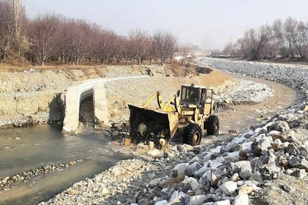 از تلف شدن آبزیان رودخانه کانی رش اشنویه جلوگیری شد