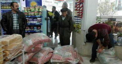 بیش از 1 هزار تن کالای اساسی در شهرستان مهاباد توزیع شد