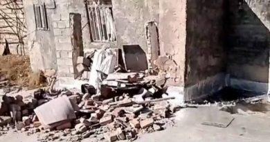 یک خانه روستایی در سردشت بر اثر انفجار گاز تخریب شد