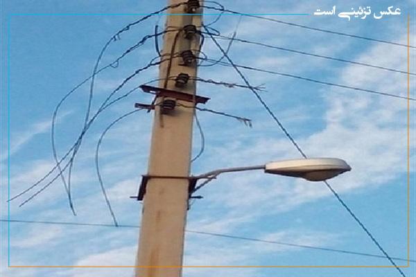 """سارق حرفه ای """"سیم کابل های برق"""" در مهاباد دستگیر شد"""