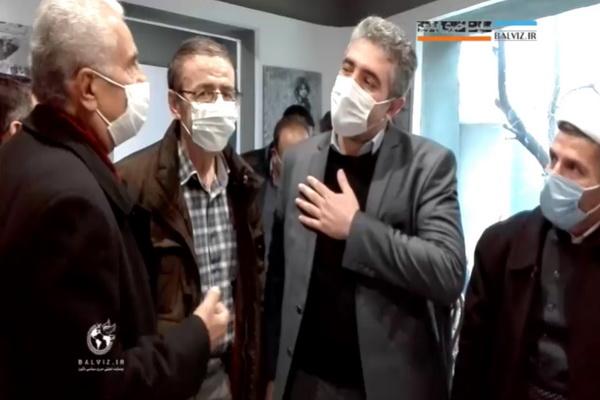 در حاشیه افتتاح نمایشگاه عکس ،دیدار فرماندار با عکاس مهابادی/فیلم