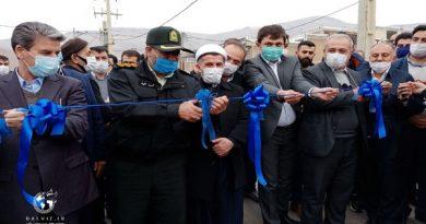 با حضور استاندار آذربایجان غربی طرح های عمرانی،آموزشی و خدماتی در مهاباد افتتاح شد