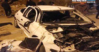 طی دو حادثه سقوط خودرو در مهاباد 2 نفر فوت کردند