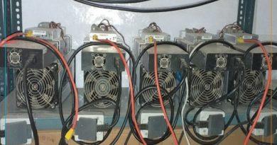 بیش از 10 دستگاه ماینر قاچاق در مهاباد کشف شد