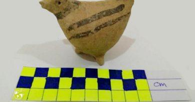 پرنده سفالی تپه سوغانلوی پیرانشهر در فهرست آثار ملی کشور به ثبت رسید