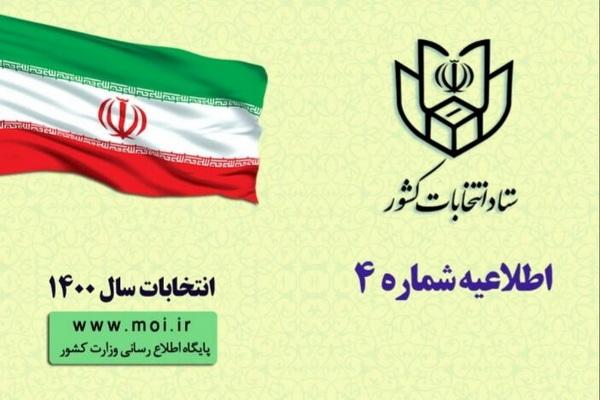 اطلاعیه شماره ۴ ستاد انتخابات کشور/ثبت نام داوطلبان عضویت در شوراهای اسلامی روستاها