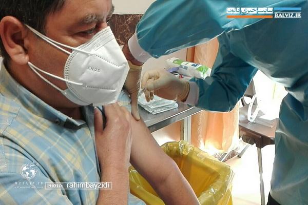 حال دریافت کنندگان واکسن روسی در مهاباد خوب است