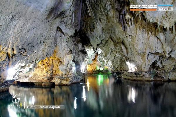 غار آبی تاریخی سهولان مهاباد تا اطلاع ثانوی تعطیل است