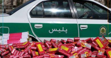 سریال ادامه دار کشفیات مواد محترقه غیرمجاز اینبار در مهاباد/ چهارشنبه سوری یا چهارشنبه سوزی