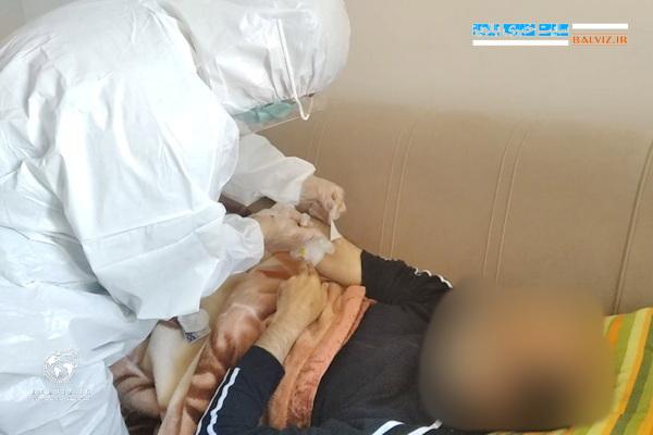 بیماران قرنطینه کرونایی فراموش شده گان شبکه بهداشت و درمان مهاباد