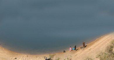 فراخوان عمومی به منظور پاکسازی حاشیه دریاچه ی سد مهاباد