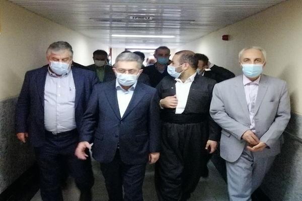 کمبودهای بیمارستان امام خمینی سردشت برطرف میشود