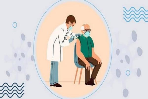 اطلاعیه در خصوص جاماندگان افراد بالای 80 سال مهاباد جهت تزریق واکسن
