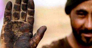 به مناسبت روز جهانی کارگر(دست سیاه ، نان سفید)