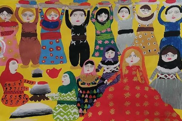 کسب مدال نقره جشنواره جهانی نقاشی کودک توسط نوجوان مهابادی