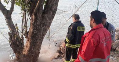 کشف جسد یک خانم جوان در سد مهاباد
