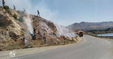 برگزاری مانور مشترک اطفاء حریق در مهاباد