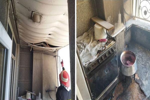حادثه آتش سوزی یک واحد منزل مسکونی در مهاباد مهار شد