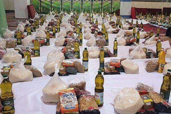 در سال جاری 800 بسته کمک معیشتی در بین نیازمندان مهاباد،توزیع شد