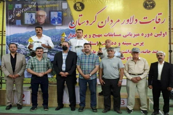 مهاباد قهرمان مسابقات پرس سینه بزرگسالان شد