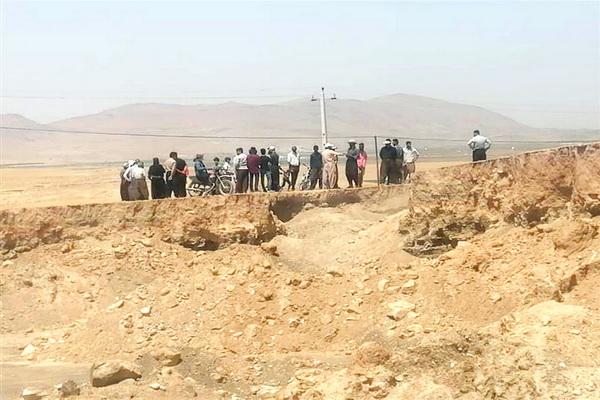 باند حفاران غیر مجاز در مهاباد دستگیر شدند