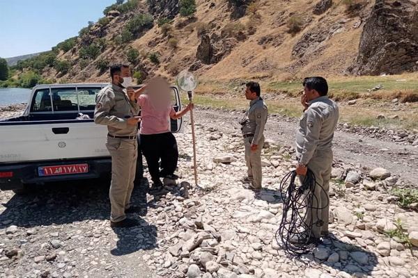 در سال جاری بیش از ۳۰ صیاد در سردشت دستگیر شدند