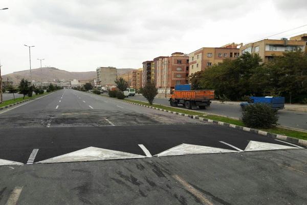 سرعت گیرهای غیر استاندار مهاباد بلای جان و مال