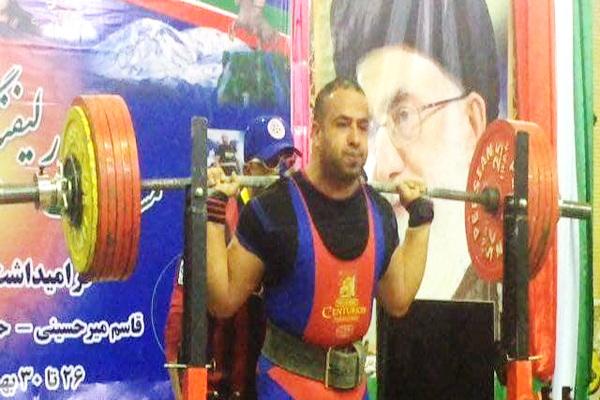 ورزشکار شایسته مهابادی به اردوی تیم ملی پاورلیفتینگ دعوت شد